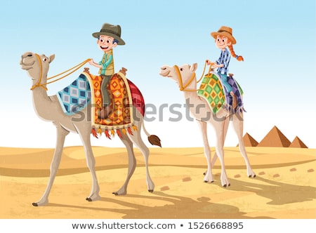 teenage boy tourist in egypt stock photo © simply