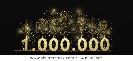 one million followers celebration fireworks background Stock photo © SArts