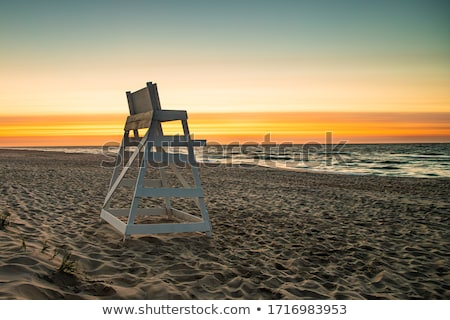 lifeguards on beach island stock photo © bluering