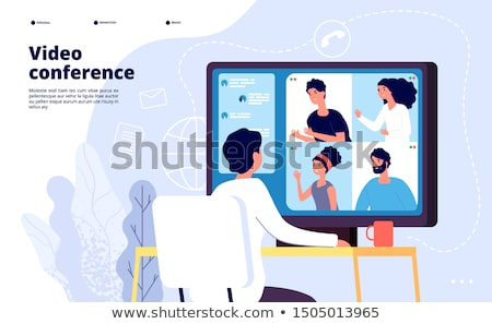 Illustrator at video tutorial Stock photo © jossdiim