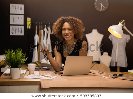 Successful entrepreneur and owner of fashion studio Stock photo © pressmaster