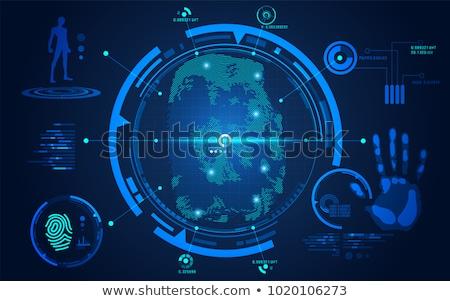 Computer forensics concept vector illustration Stock photo © RAStudio