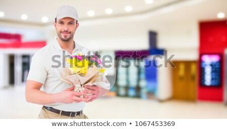 Mensajero flores compuesto digital negocios Foto stock © wavebreak_media
