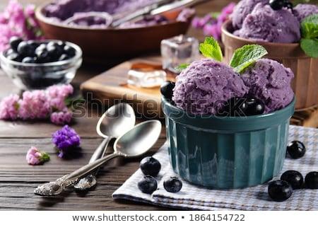 Bessen kommen banketbakkerij winkel keuken productie Stockfoto © dolgachov