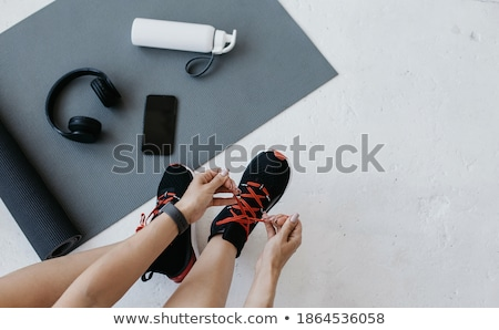 спортивных Top фитнес фляга спорт лет Сток-фото © dolgachov