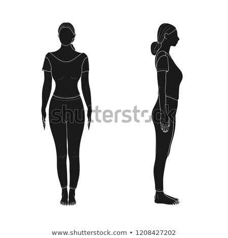 Healthy sport female body Stock photo © Anna_Om