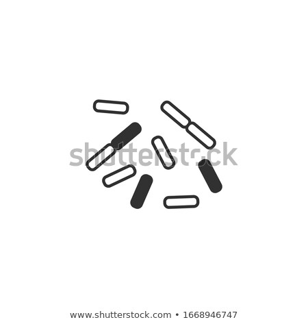 Bacteria, virus, germs icon. Chinese coronavirus. Science microbe icon. Stock Vector illustration is Stock photo © kyryloff