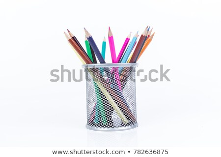 Bleistift · Stifte · Illustration · Ball · Stift · Füller - stock foto © get4net