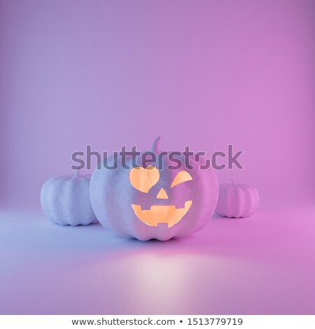 Halloween Pumpkin Heart Stock photo © Lightsource