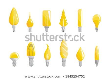 Toplama yaratıcı ışık lamba biçim etkili Stok fotoğraf © designer_things