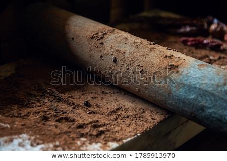 какао бобов шоколадом каменные Сток-фото © olira