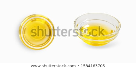 monte · recheado · verde · azeitonas · branco · Óleo - foto stock © ansonstock