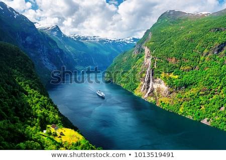 Норвегия живописный воды природы пейзаж Сток-фото © SimpleFoto
