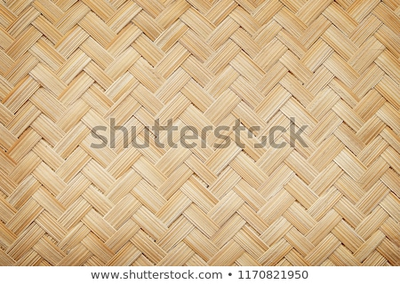 dried cane pattern interlaced texture Stock photo © lunamarina