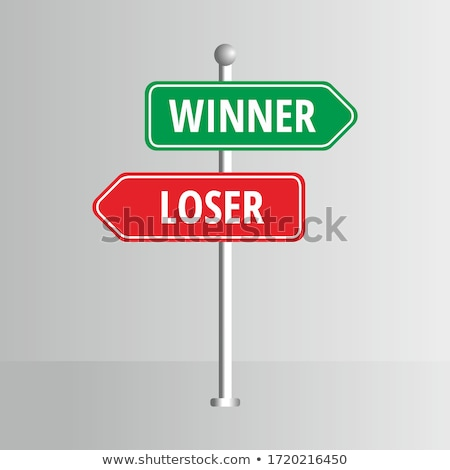 Winner and Loser  Stock photo © nasirkhan