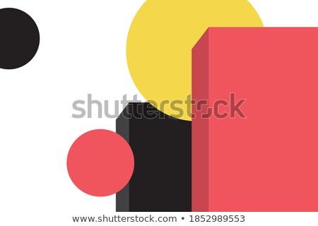 Sun made of rectangles  Stock photo © orson