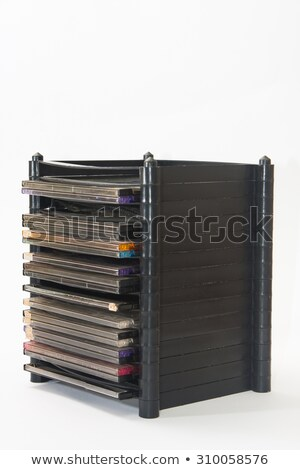 compact disc tower Stock photo © prill