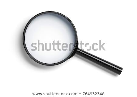 黒 孤立した 白 科学 研究 ストックフォト © gant