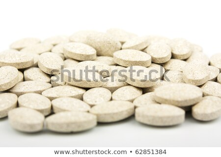 Heap of grassy tablets  Stock photo © restyler