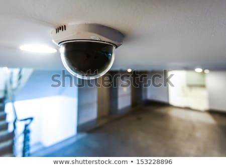 通り セキュリティ cctv カメラ 青空 空 ストックフォト © latent