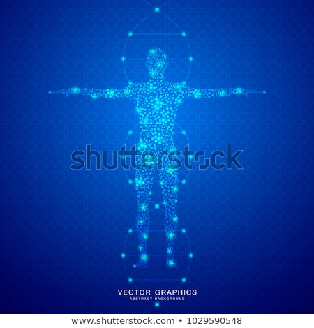 Human male illustration Stock photo © digitalstorm