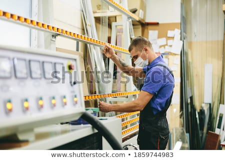 Glazier working Stock photo © photography33