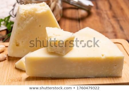 Typical  Tuscany Cheese Pecorino of Pienza Stock photo © wjarek