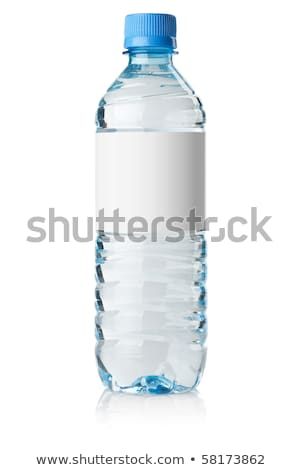 water bottle with blank label stock photo © ozaiachin