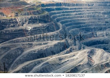 Foto stock: Branco · velho · abandonado · mina · montanha · Sérvia