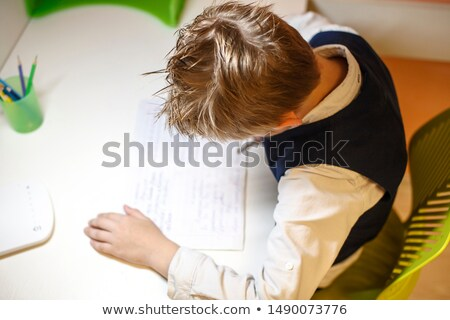 schoolboy visibly bored Stock photo © photography33