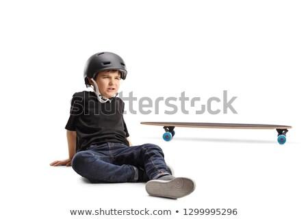 pequeno · triste · menino · família · jovem · estresse - foto stock © photography33
