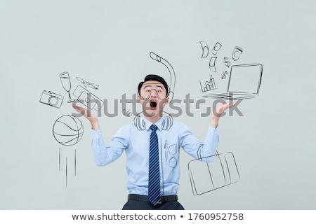 Astounded young businessman Stock photo © photography33