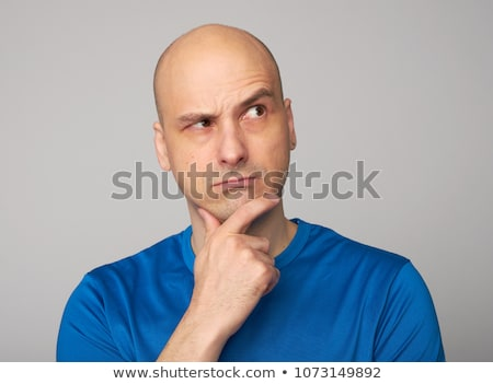 Casual bald man in studio Stock photo © photography33