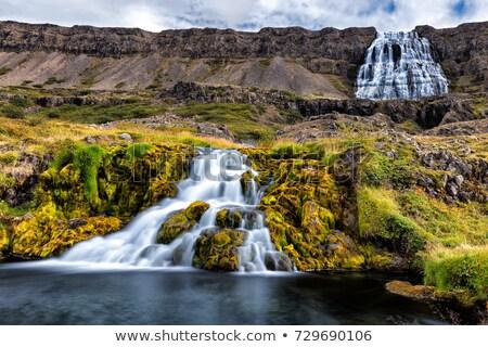 Stock photo: Dynjandi - Westfjords, Iceland.