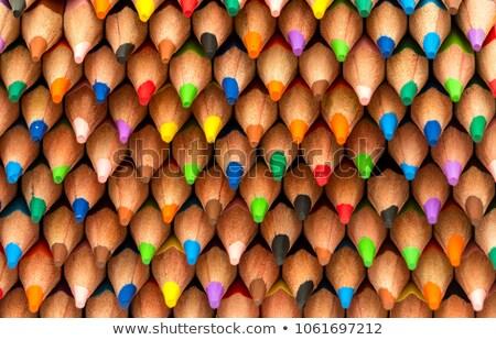 Pastel ołówki biały Zdjęcia stock © stevanovicigor