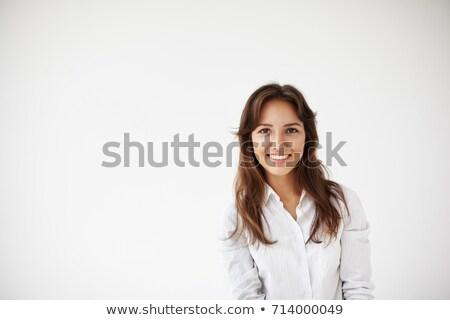 lang · professionele · geïsoleerd · witte · technologie - stockfoto © wavebreak_media