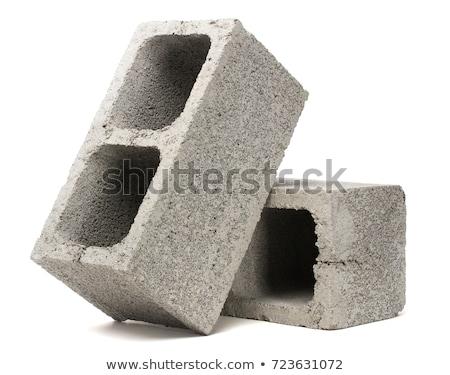 beton · kockák · minta · textúra · épület · fal - stock fotó © itobi