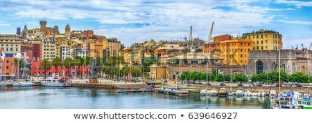 The ancient port in Genova, Italy Stock photo © Antonio-S