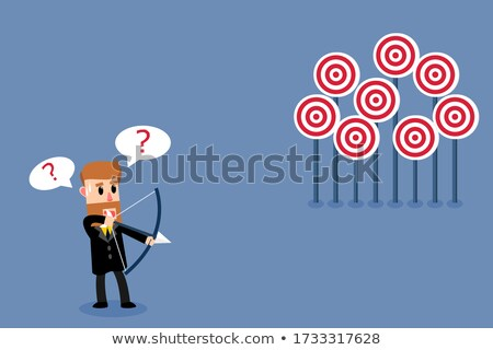 Choosing A Target Stock photo © Lightsource