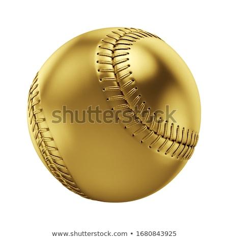 öltések · baseball · makró · lövés · piros · űr - stock fotó © lightsource