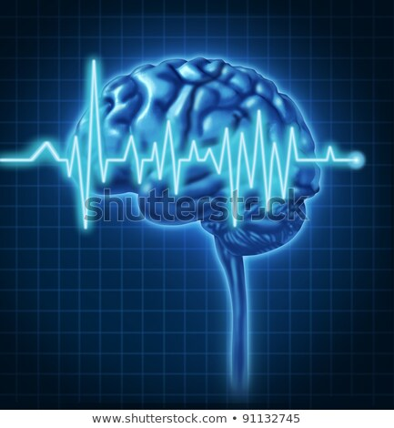 Cerebro humano salud eléctrica causar Foto stock © Lightsource