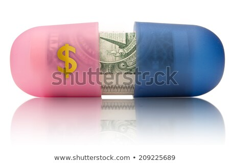 Economic Stimulus - Pills Stock photo © iqoncept