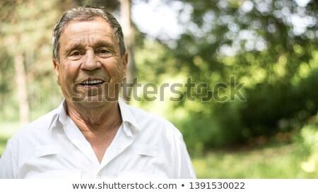 senior man at summer Stock photo © photography33