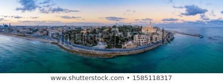 古い モスク イスラエル ミナレット 美しい 地中海 ストックフォト © rglinsky77