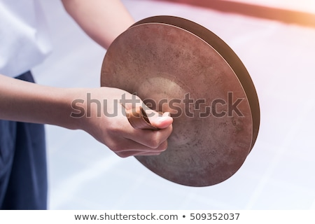 Playing cymbals Stock photo © zzve