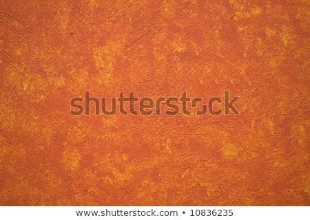 Foto stock: Brillante · vibrante · naranja · amarillo · pared · México