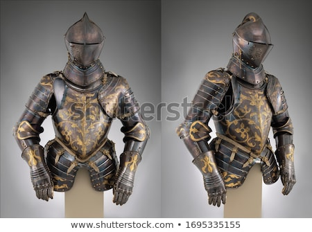Costume armure fer milieu âge Photo stock © ABBPhoto