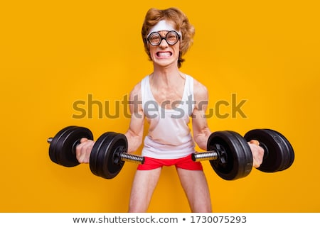 Muscular young man Stock photo © vankad