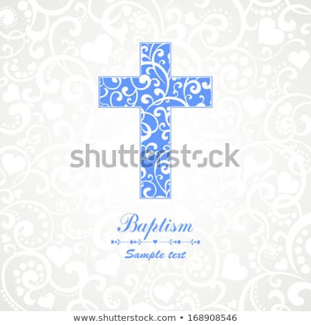 Religious cross with presents Stock photo © kbuntu