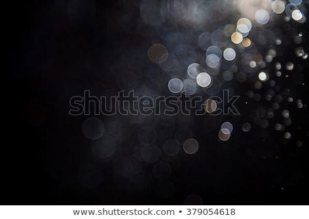 Mavi fotoğraf bokeh ışıklar Noel dışarı Stok fotoğraf © ryhor